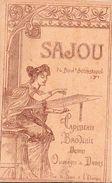 CATALOGUE  SAJOU - Ouvrages De Dames - Tapisserie - Broderies - Dessins - 32 Pages Illustrées - (21 Cm / 13 Cm) - Matériel Et Accessoires