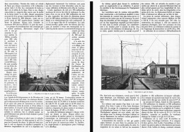 LE CHEMIN DE FER  ELECTRIQUE De FRIBOURG-MORAT-ANET ( SUISSE )  GARE De MORAT Et De CENSIER   1906 - Andere