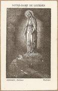 Image Pieuse NDde Lourdes  Editeur Bonamy Poitiers - Imágenes Religiosas