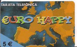 TARJETA PREPAGO EURO HAPPY - Tarjetas Telefónicas