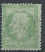 Lot N°38708  Variété/n°20, Oblit GC 3934 Thiberville (26), Grande Bouche, Impréssion Dépouillée - 1862 Napoléon III