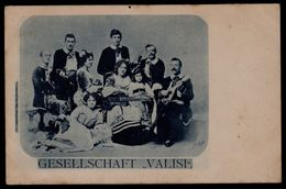 DEUTSCHES GESELLSCHAFT ** VALISI ** - VIOLON - MUSICIEN - GUITARE - INSTRUMENT - Début 1900 ! - Artisti