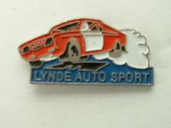 PIN'S LYNDE AUTO SPORT - Rallye