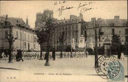 35 - RENNES - Croix De La Mission - Militaires - Rennes