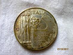 Italia: Medaglia Benito Mussolini - Italia