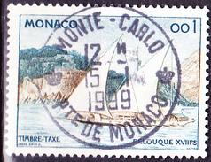 Monaco - Feluke (MiNr: 59) 1960 - Gest Used Obl - Postage Due
