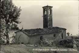 1956-Ostecchio Di Tremosine Brescia La Chiesa, Viaggiata - Brescia