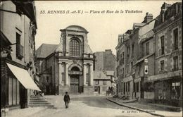 35 - RENNES - Rue De La Visitation - Rennes