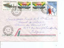 Madagascar ( Lettre Par Avion De 1994 De Ambatondrazaka Vers La Belgique à Voir) - Madagascar (1960-...)