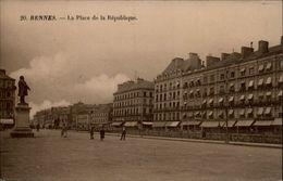 35 - RENNES - Place De La République - Rennes