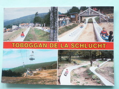 V8-B-13-67-68-haut-rhin-col De La Schlucht-toboggan De La Schlucht--animee- - Munster