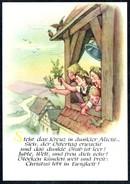 A8200 - Alte Künstlerkarte - Spruchkarte - Max Müller - Karl Marx Stadt Nr. 416 - DDR 1962 TOP - Tableaux, Vitraux Et Statues