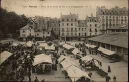35 - RENNES - Place De La Halle Au Blé Et Poissonnerie - Rennes