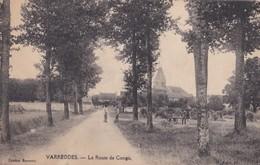 Carte 1910 VARREDDES / LA ROUTE DE CONGIS - Other Municipalities