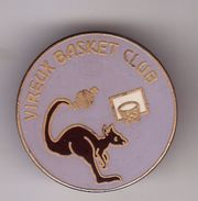 Pin's VIREUX Basket Club  ( Dép 68 ) - Basketball