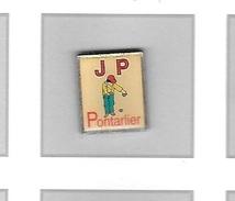 Pin's  Sport  Pétanque, Joyeuse  Pétanque  J.P  PONTARLIER  ( 25 ) - Bowls - Pétanque