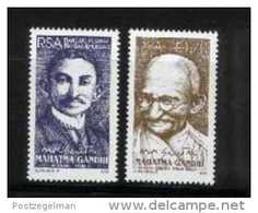 REPUBLIC OF SOUTH AFRICA, 1995, MNH Stamp(s) Mahatma Ghandi,   Nr(s.) 971-972 - Zuid-Afrika (1961-...)