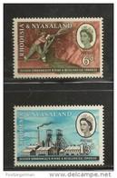 RHODESIA-NYASSALAND, 1961, Mint  Never Hinged Stamp(s), Mining Conference, Mich 40-41 , #nr. 476 - Rhodesia & Nyasaland (1954-1963)