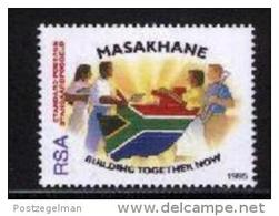 REPUBLIC OF SOUTH AFRICA, 1995, MNH Stamp(s) Masakhane (big)   Nr(s.) 969 - Zuid-Afrika (1961-...)
