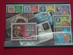 Comores, 100e. Anni.de La Mort De Rowland Hill. Série De 4 Val. Oblit. N°245 à 248 + P. Aér. N°155 Et 156 .+ Bloc N°27. - Comores (1975-...)