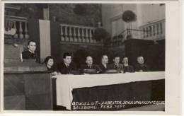 SALZBURG FEBRUAR 1951 GEWERKSCHAFT D.L.u.F. ARBEITERSCHULUNGSKONFERENZ - Syndicats