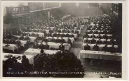 SALZBURG FEBRUAR 1951 GEWERKSCHAFT D.L.u.F. ARBEITERSCHULUNGSKONFERENZ - Labor Unions