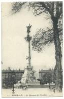 CPA BORDEAUX / LE MONUMENT DES GIRONDINS / POUR LA BELGIQUE - Bordeaux