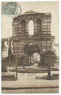 CPA BORDEAUX / RUINE DU PALAIS GALLIEN / POUR LA BELGIQUE / 1906 - Bordeaux