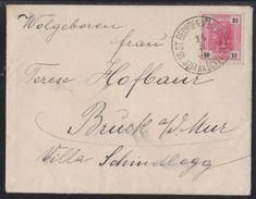 SV. JURI NA ŠČAVNICI, Slovenia, Nice Strike On Cover, 1906 - 1850-1918 Empire