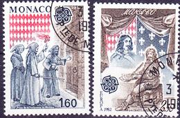 Monaco - Europa (MiNr: 1526/7) 1982 - Gest Used Obl - 1982
