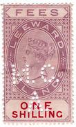 (I.B) Leeward Islands Revenue : Magistrates Court 1/- (Antigua District A) - Leeward  Islands