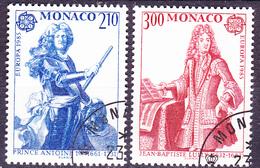 Monaco - Europa (MiNr: 1681/2) 1985 - Gest Used Obl - Europa-CEPT