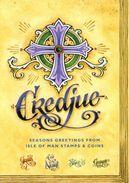Carte De Voeux 2016 De La Poste De L'Ile De Man - The Manx Christmas Prayer Book - Man (Ile De)