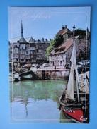 Honfleur - Calvados - Francia - Veduta - Les Bateaux De Peche A Quai Dans L'avant Port - Honfleur