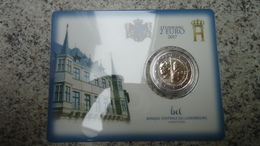 Coincard 2 Euros Luxembourg 2017 - Grand Duc Guillaume III - BU - Luxembourg