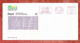 Brief, Pitney Bowes E00-8007, TSV Bayer UEFA-Pokal-Sieger 1987, 80 Pfg, Leverkusen 1988 (42896) - [7] Federal Republic