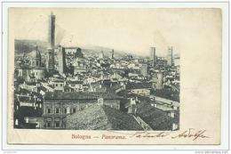 BOLOGNA PANORAMA 1918 VIAGGIATA F.PICCOLO - Bologna
