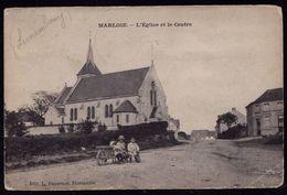 MARLOIE - ( Marche En Famenne ) - L'église Et Le Centre ( Tampon Marloie Au Dos ) - België