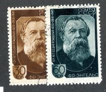 26534 Russia 1945 Michel 992/93 (o) Offers Welcome. - 1923-1991 URSS