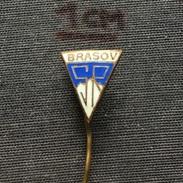 Badge (Pin) ZN005840 - Football (Soccer / Calcio) Romania Steagul Roșu Brașov (Rosu Brasov) - Voetbal