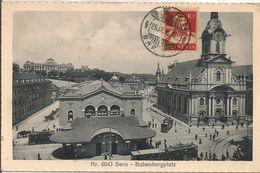 BERN - BUBENBERGPLATZ - Tramway - Cachet Poste - BE Berne