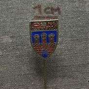 Badge (Pin) ZN005854 - Athletics Gymnastics Judo Boxing Swimming Romania CSM Cluj-Napoca - Boxing
