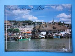 Trouville Sur Mer - Calvados - Francia - Le Port De Peche Sur La Touques Et Le Quai F. Moureaux - Trouville
