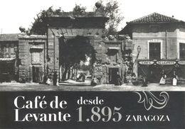 Espagne - Aragón - Zaragoza - Café De Levante - El Café De Levante Junto A La Puerta Del Carmen Hacia 1900 - - Zaragoza