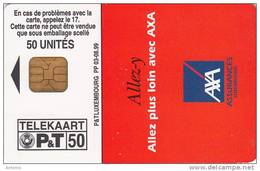 LUXEMBOURG - AXA(PP 03), 08/99, Used - Luxembourg