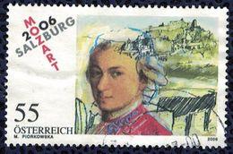 Autriche 2006 Oblitéré Used Musique Mozart Salzbourg SU - 1945-.... 2ème République