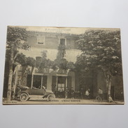 07 - MAYRES - L'hôtel GINOUX En 1921 - France