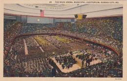 Missouri Kansas City The Main Arena Municipal Auditorium Curteic