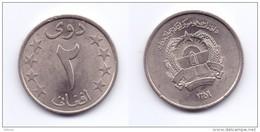 Afghanistan 2 Afghani 1359 (1980) (KM#999) - Afghanistan