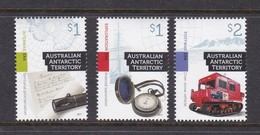 Australian Antarctic Territory 2017 Cultural Heritage Set MNH - Unused Stamps